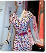50's Fashion Acrylic Print
