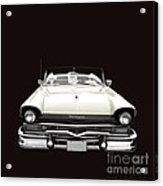50s Ford Fairlane Convertible Acrylic Print