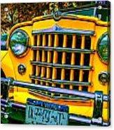 51 Jeepster Acrylic Print