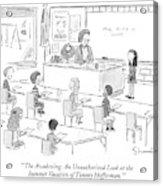 'the Awakening: An Unauthorized Look Acrylic Print