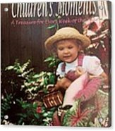 52 Children's Moments - Book Cover Acrylic Print