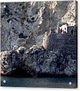 Views From The Amalfi Coast In Italy Acrylic Print