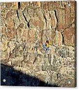 Rock Climb Acrylic Print