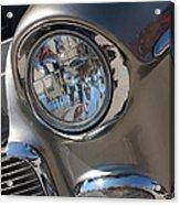 55 Bel Air Headlight-8200 Acrylic Print