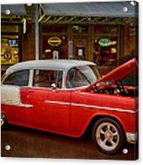 55 Chevy Belair Acrylic Print