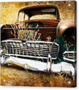 55 Chevy Acrylic Print