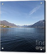 Alpine Lake Acrylic Print
