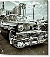 56 Chevy Acrylic Print by Merrick Imagery