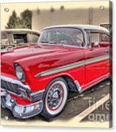 56 Classic Chevy Acrylic Print