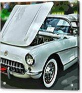 '56 Corvette Acrylic Print