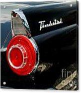 56 Ford Thunderbird Acrylic Print