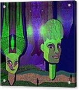 566 - Sphinxes In Fairyland Acrylic Print