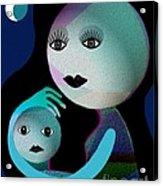 569 - Moonmotherchild Acrylic Print