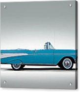 57 Chevy Convertible Acrylic Print