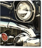 57 Chevy Headlight Acrylic Print