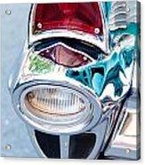 57 Chevy Taillight Acrylic Print