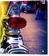 57 Pontiac Tail Light Acrylic Print