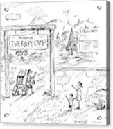 New Yorker July 11th, 2005 Acrylic Print