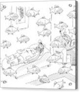 New Yorker May 5th, 2008 Acrylic Print