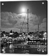 570 Bw The Sea Odessy                                      In Monochome 2 Acrylic Print