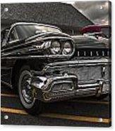58 Oldsmobile Super 88 Acrylic Print
