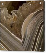 Agate Closeup Acrylic Print