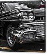 58oldsmobile Super 88 Headlights Acrylic Print