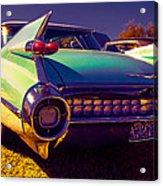 '59cadillac Fins Acrylic Print