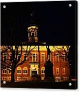 5am At Port Hope Town Hall Acrylic Print