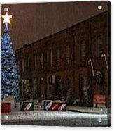 5th And G At Christmas 2012 Acrylic Print