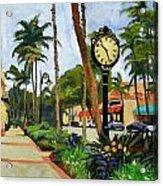 5th Avenue Naples Florida Acrylic Print