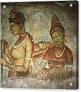 5th Century Cave Frescoes Acrylic Print
