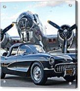 1957 Chevrolet Corvette Acrylic Print