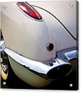 1959 Chevy Corvette Acrylic Print by David Patterson