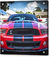 2013 Ford Shelby Mustang Gt500 Acrylic Print