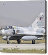 A Qatar Emiri Air Force Mirage 2000 Acrylic Print