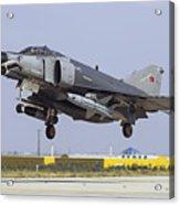 A Turkish Air Force F-4e-2020 Acrylic Print