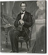 Abraham Lincoln (1809 - 1865) U Acrylic Print