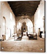 Abruzzo, Laquila, Paganica, Madonna Del Castello Acrylic Print