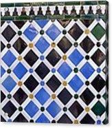 Alhambra. Spain. Granada. Alhambra Acrylic Print
