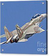 An F-15i Raam Of The Israeli Air Force Acrylic Print