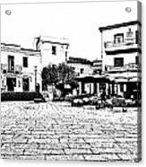 Arzachena Square Acrylic Print