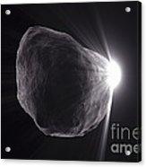 Asteroid Acrylic Print