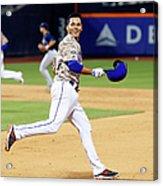 Atlanta Braves V New York Mets 6 Acrylic Print