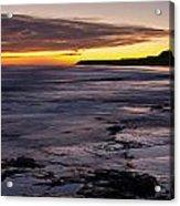 Bamburgh Castle At Sunrise Acrylic Print