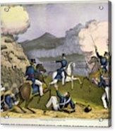 Battle Of Monterrey, 1846 Acrylic Print