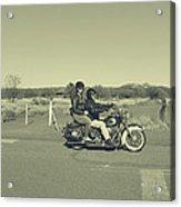 Bike Ride Acrylic Print