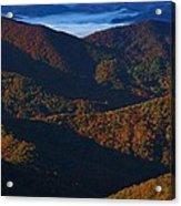 Blue Ridge Mountains Acrylic Print