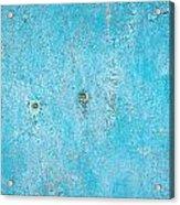 Blue Wood Acrylic Print