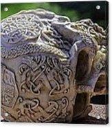 Celtic Skulls Symbolic Pathway To The Other World Acrylic Print